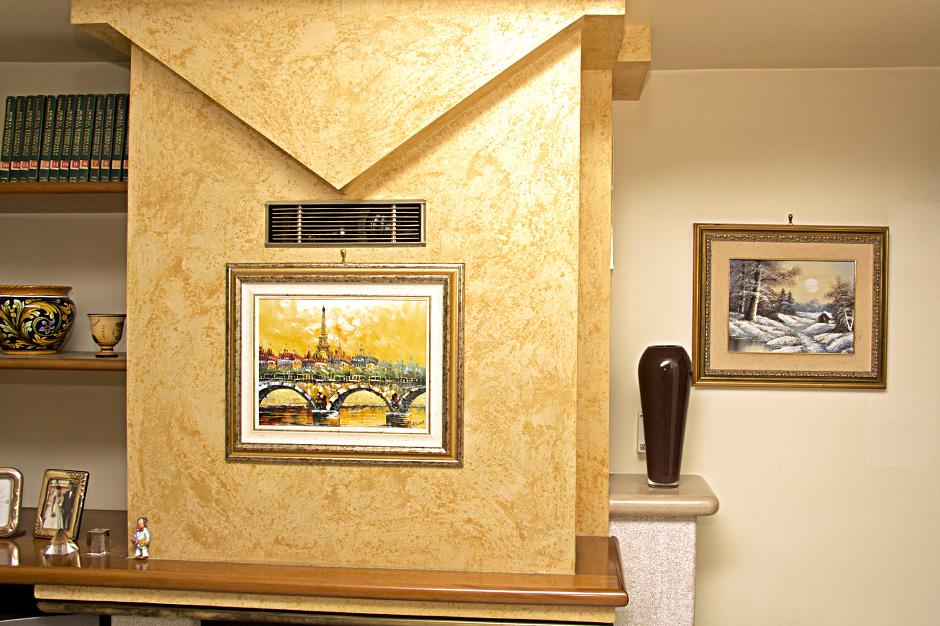 Parete In Cartongesso Per Camerette: La parete libreria in cartongesso ...