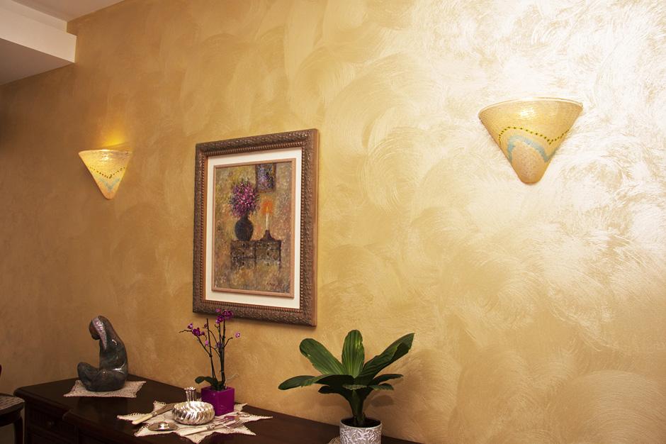 Parete Decorata Con Quadri E Colori Bricoportale Puntata 42 Picture